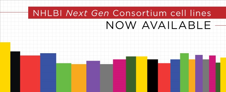 NHLBI Next Gen Consortium Cell Lines Now Available