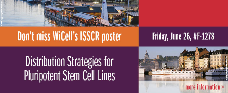 Cell Line Distribution Strategies - ISSCR Poster